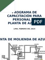 Capacitación Planta de Azufre
