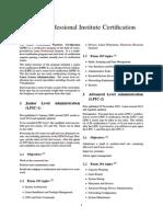 Linux Professional Institute Certification