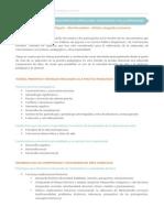 Temario área de Historia Geografía y Economía 2015