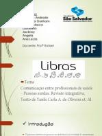Libras - Fisioterapia