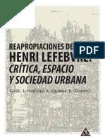 """Osvaldo Blanco """"La dinámica espacio/territorial en el estudio de las clases sociales"""", en Reapropiaciones de Henri Lefebvre. Crítica, Espacio y Sociedad Urbana"""