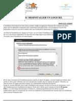Installer / desinstaller des logiciels