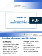 Assessment of Cardiovascular Function Hinkle PPT Ch 25