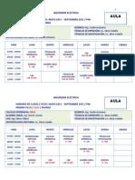 2. Horario de Clases 2015 - 2015. P46