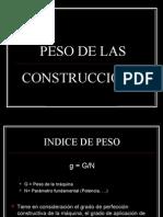 Peso y Volumen de Las Construcciones