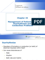 Management of Patients with Dysrhythmias and Conduction problems Hinkle PPT Ch 26