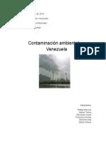 Contaminación Ambiental en Venezuela