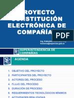 Constitucion Electronica de Companias-presentacion Notarios - Vf