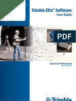Trimble Elta Software User Guide Ver0200