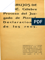 Los brujos de Chiloé. Celebre proceso del juzgado de Ancud.