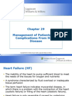 Management of Patients with Complications from Heart Disease Hinkle PPT Ch 29