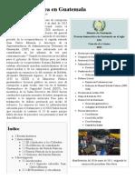 Caso de La Línea en Guatemala - Wikipedia, La Enciclopedia Libre