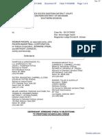 Haddad v. Indiana Pacers et al - Document No. 37