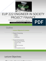 2015 Eup 222 Notes Project Finance Lecture 2
