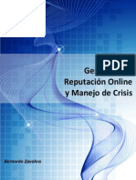 Reputación Online y Manejo de Crisis