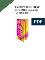 Cara Membuat Buku Lipat Atau Book Fold