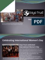Daya Trust Annual Report 2014