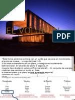 el volumen en la arquitectura