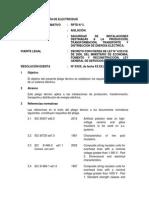Pliego Tecnico Normativo-RPTD05 Aislacion
