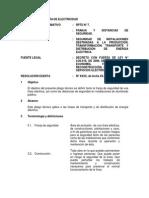 Pliego Tecnico Normativo-RPTD07 Franja y Distancias de Seguridad