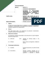 Pliego Tecnico Normativo-RPTD15 Operacion y Mantenimiento