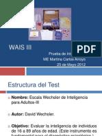 Ficha Tecnica WAIS III