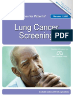 Guidelines Lung Screening