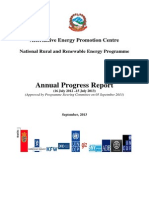 Annual Progress Report of NRREP 2012.13