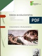 Ideias Evolucionistas – Aula 01