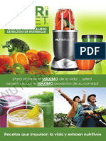 Nutribullet Manual