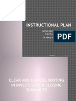morales instructional plan