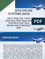 MAS Strategic Management Presentation