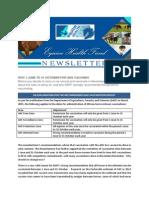 EHF Newsletter June 2015