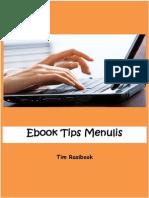 eBook Tips Menulis