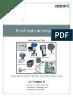 |Field Instrumentation