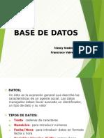 Base Datos NMC
