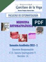 Medicina II  Clase 2015 - 1