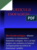 Diverticuli Esofagieni Si Achalazia