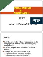Asas Kawalan Motor Tingkatan 4