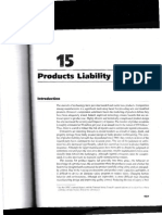 Chapter 15 Product Liability (Total Quality Management)