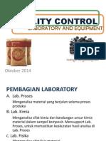 Lab Introduction Equipment