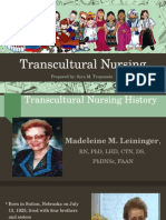 Transcultural Nsg Hx Theory Cultural Assst