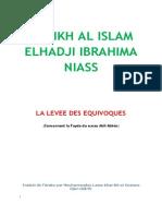 Kashf Al Bas - LA LEVEE DES EQUIVOQUES