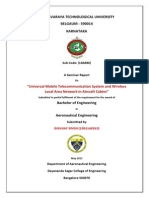 Front Page for Seminar