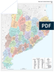 Mapa Comarcal y Municipal de Catalunya 2015