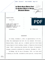 Brown v. Glynn County Board Of Elections & Voter Registration et al - Document No. 7
