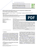 Journal of Ethnopharmacology Volume 142 Issue 2 2012 [Doi 10.1016%2Fj.jep.2012.05.010] Romina E. D'Almeida; María R. Alberto; Cristina Quispe; Guiller -- Antimicrobial Phenylpropanoids From the Argent