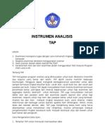 Instrumen Analisis Dg Tap