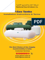 LPG Tanks Installation Instructions by GASCO