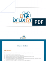 Bruxon - Parking Resources Planning System - PowerPoint Presentation